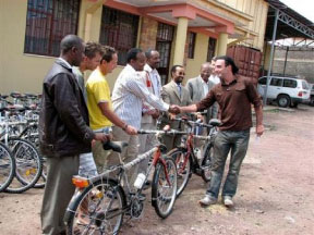 Donate Bikes To Africa donating bikes to individuals