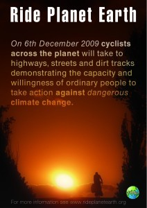 Ride Planet Earth campaign