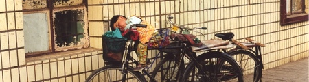sleeping on your bike by tomaradze