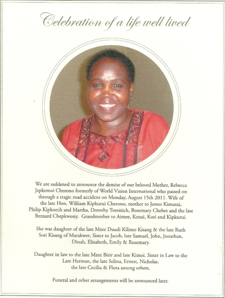 The Passing Of A Friend In Kenya Tda Global Cycling