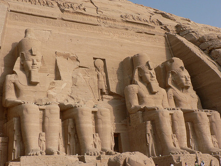 sites of Abu Simbel