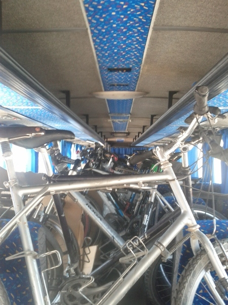 another_challenging_border_crossing__25_bikes_in_a_bus