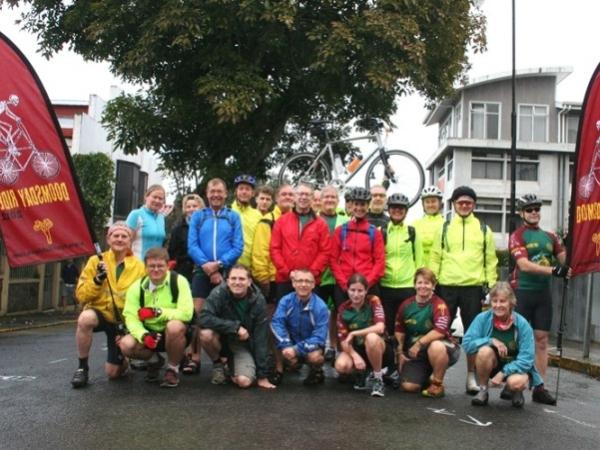 group pic upon leaving San Jose