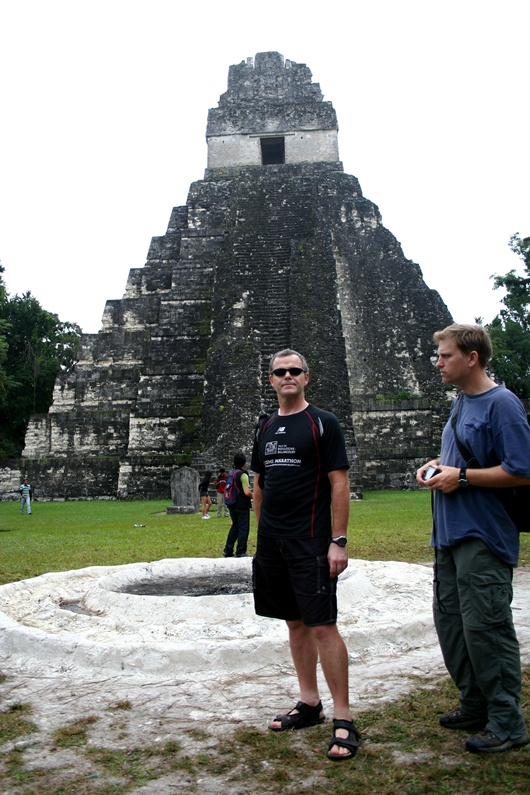 Eric & Dan at Tikal