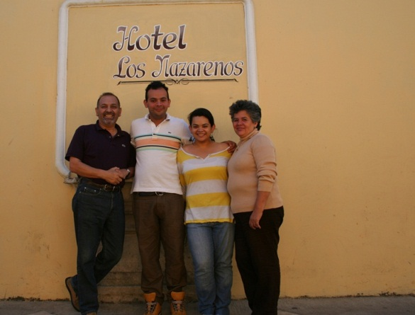 Our hosts in Antigua