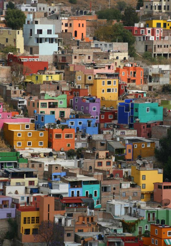 Conquistadores - Guanajuato Houses - Small