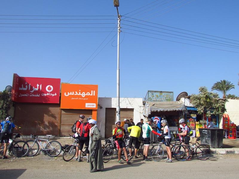 Egypt Coke stop
