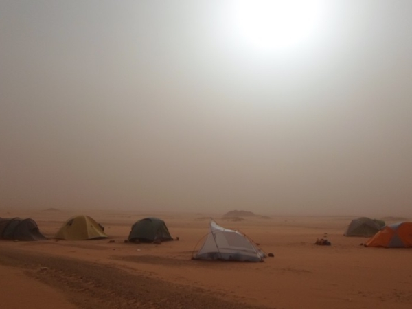 Sun, Sand and Tents