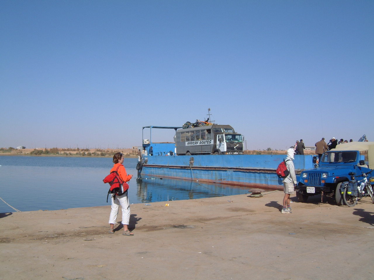 Memories of the Lake Nasser Ferry (2003)