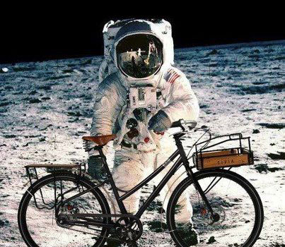 What do cycling a continent and spending a year in space have in common?