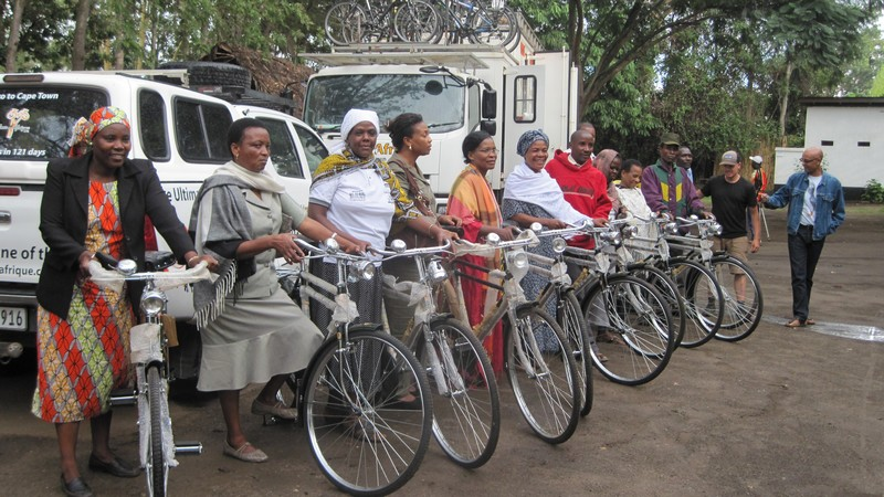 TDA Foundation Bicycle Donation in Arusha, Tanzania