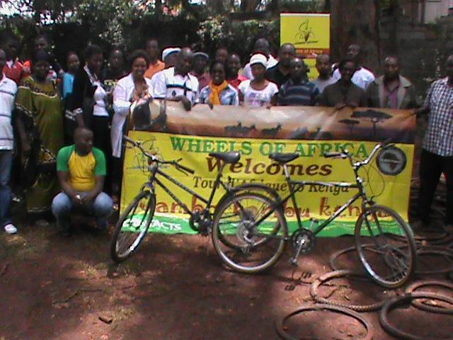 TDA 2013 Nairobi Bike Donation