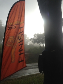 Finish line flag