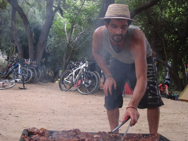 Yanez grilling ribs
