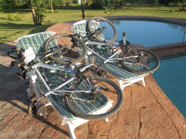 bikes at rest