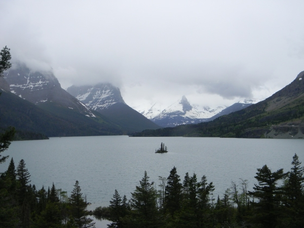 lake st mary glacier park reduced