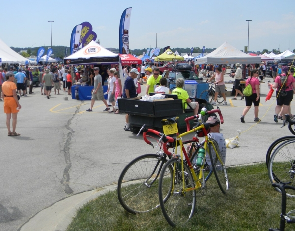 Ragbrai Expo in full swing