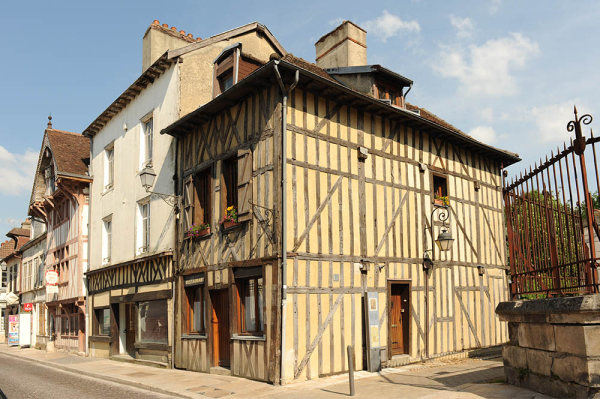 Troyes - old town