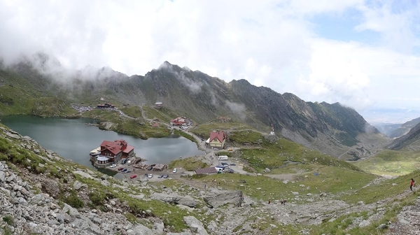 Balea Lake panorama1