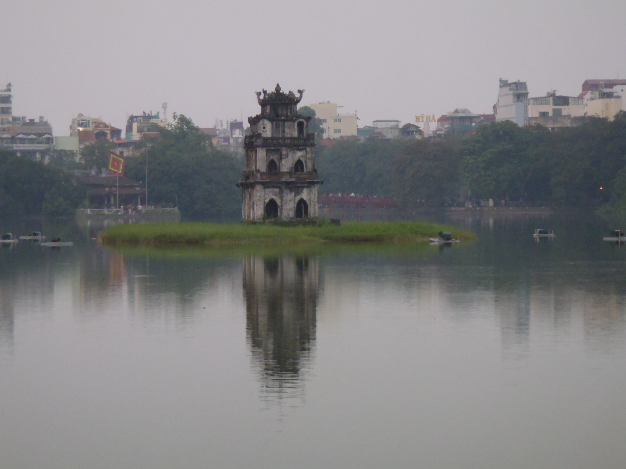 My First Day in Hanoi.