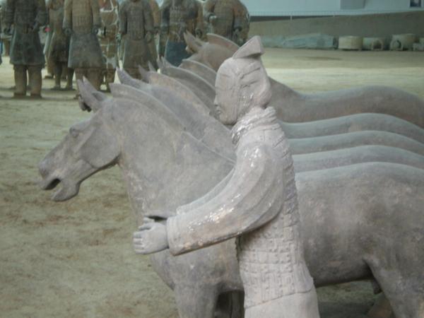Terracotta horsemen
