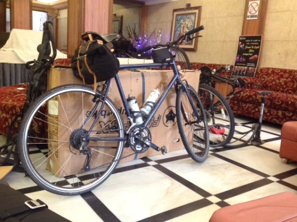 Bikes arrive