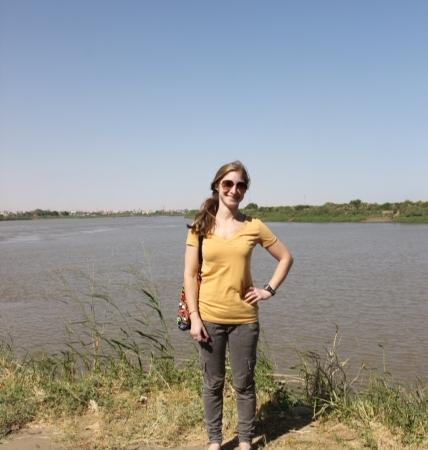 Bina Nile confluence
