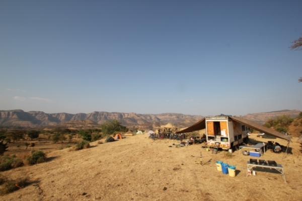Ethiopian campsite