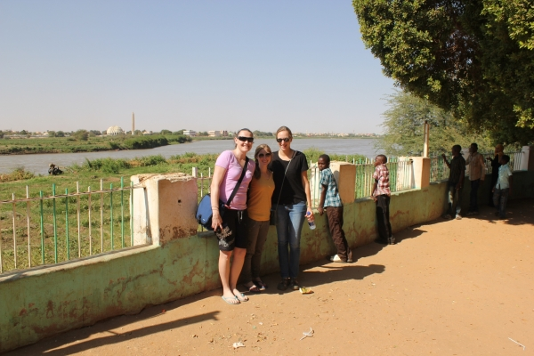Staff girls at the Nile
