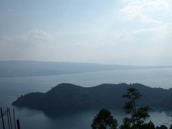 By Lake Toba