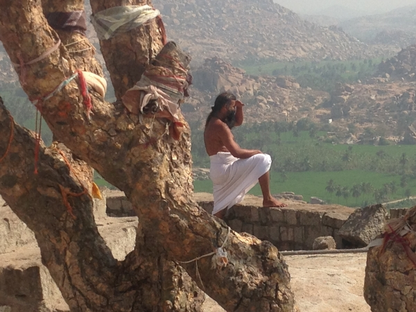 Hanumaun temple devotee