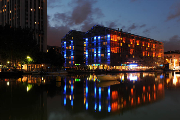 Holiday Inn Express - Canal De La Villette, Paris. Our starting point of the tour
