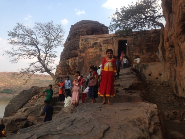 Kids at Badami