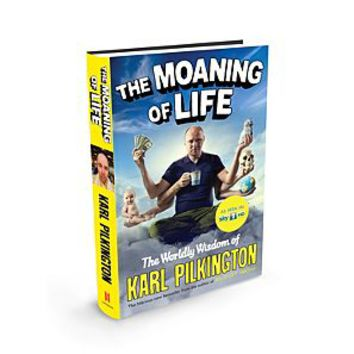 April Book Review – The Moaning of Life – Karl Pilkington