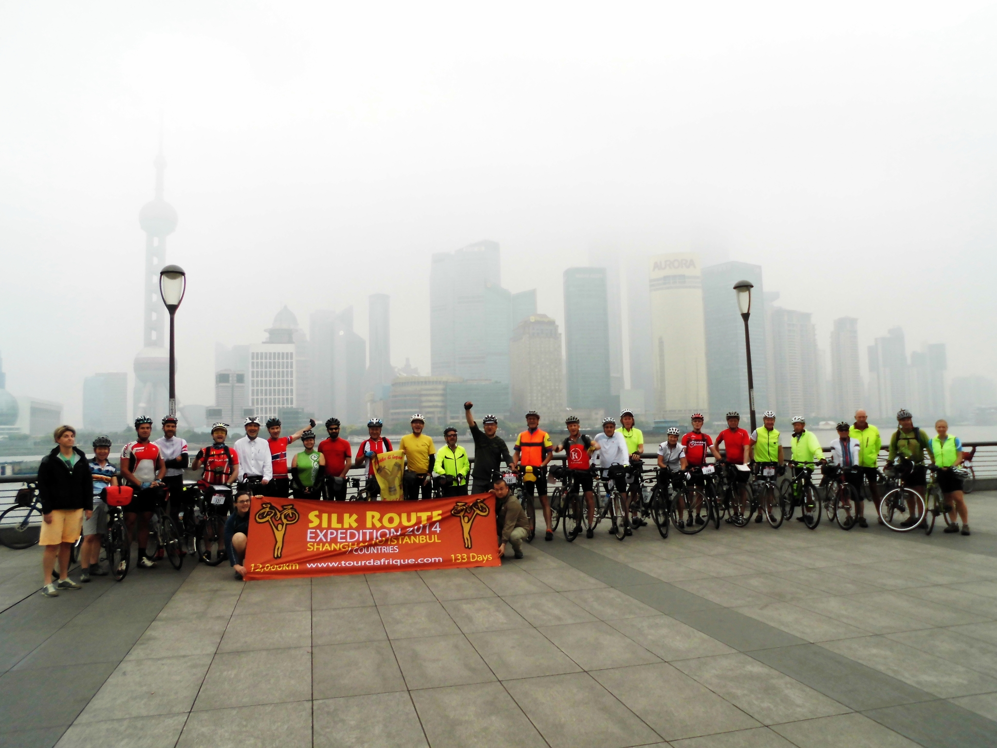 The first week on the Silk Route Cycling Expedition