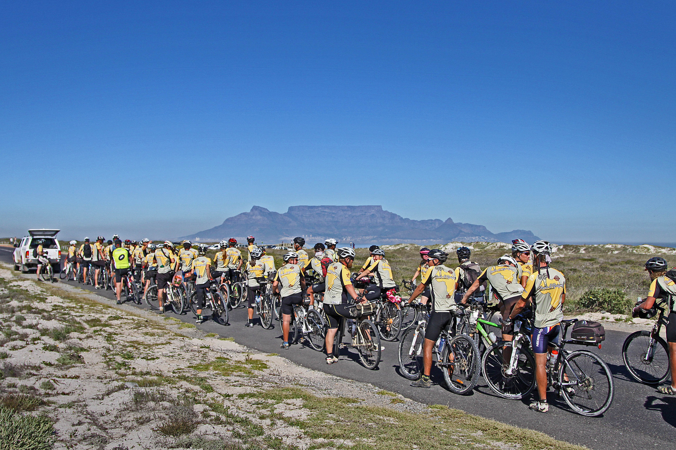 2014 Tour d'Afrique Closing Ceremonies in Cape Town