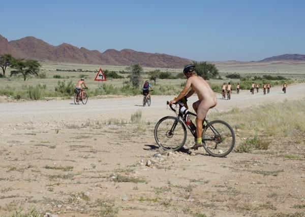 Naked mile