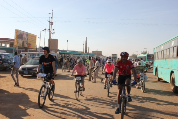 Through the streets of Khartoum