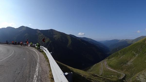 Beautiful scenery of Romanian mountains