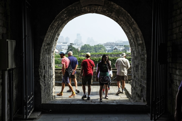 Exploring the City Wall of Nanjing