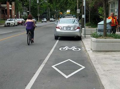 car-parked-in-bike-lane