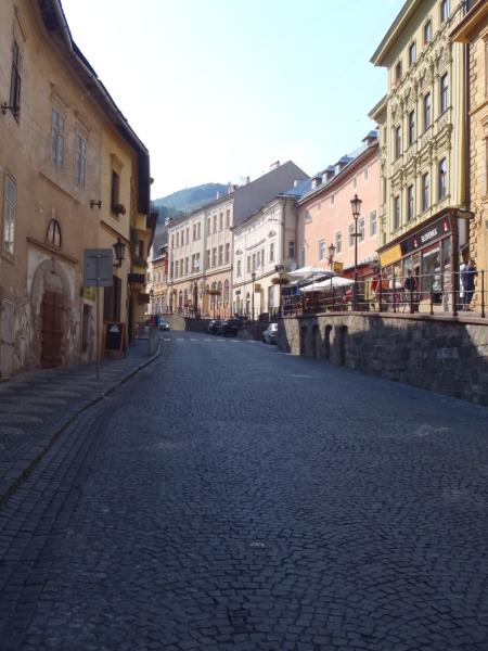 Slovakia - Street view in Banska Stiavnica