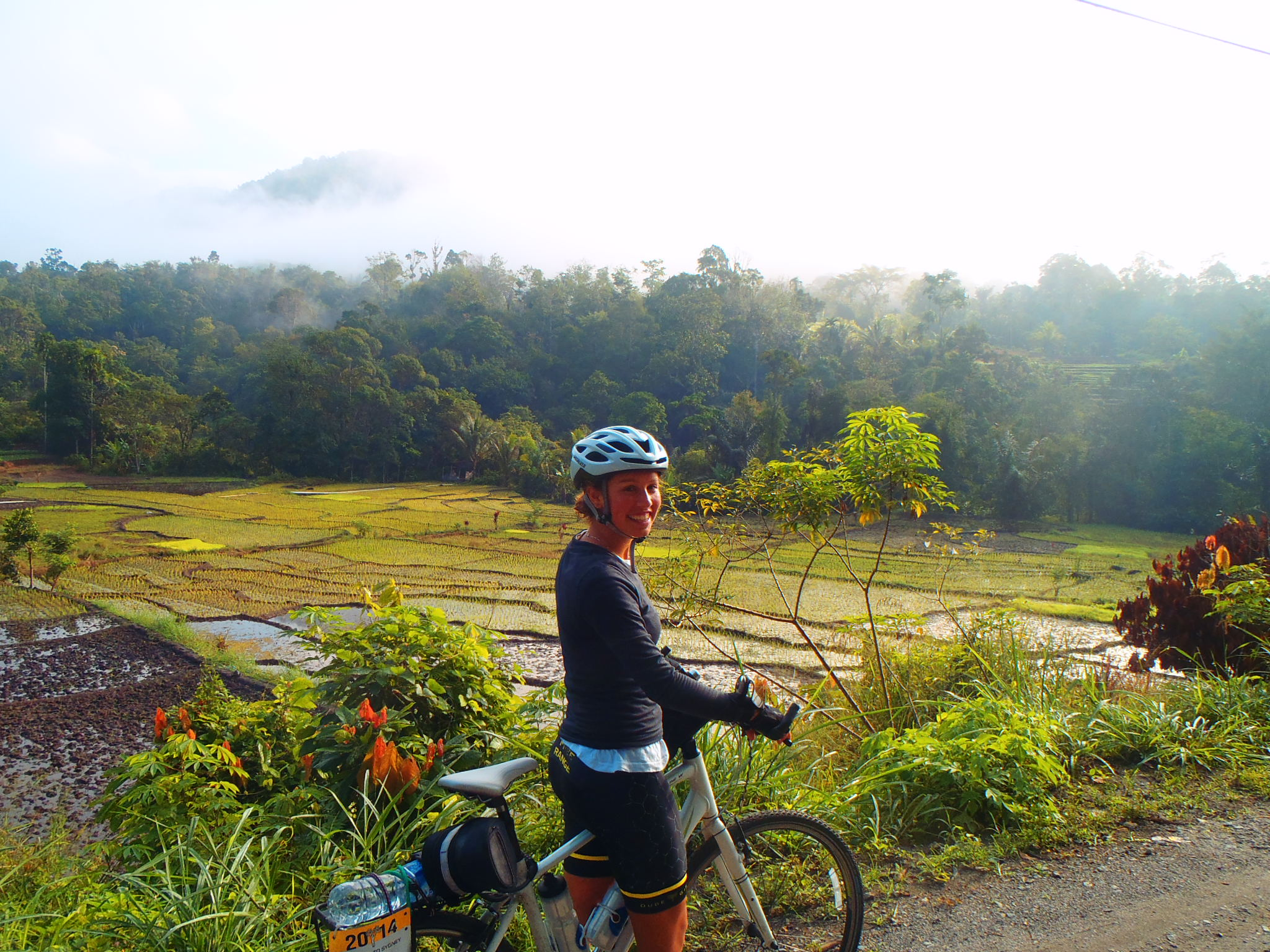 Take your bike and cycle Sumatra