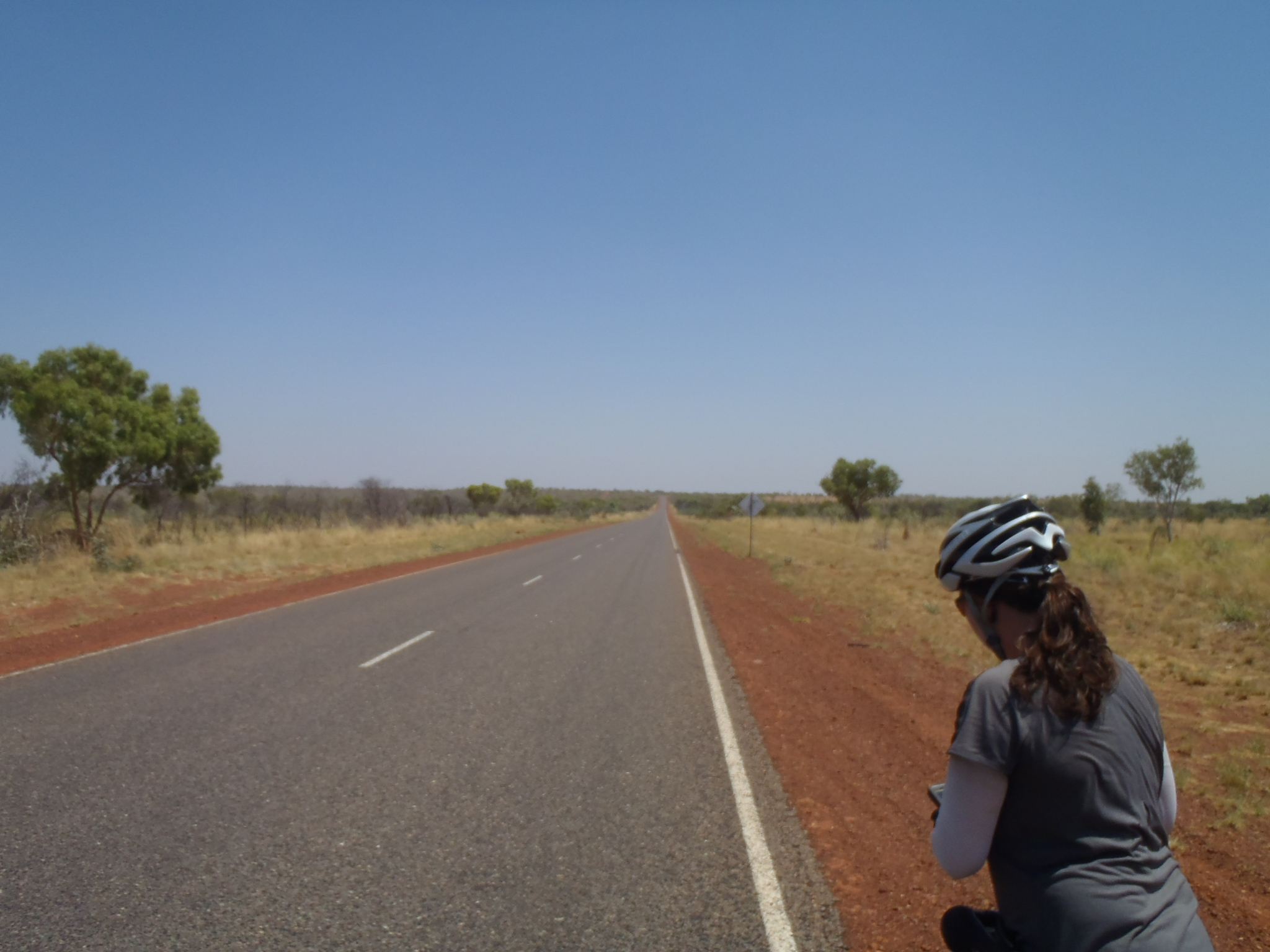 Cycling The Australian outback