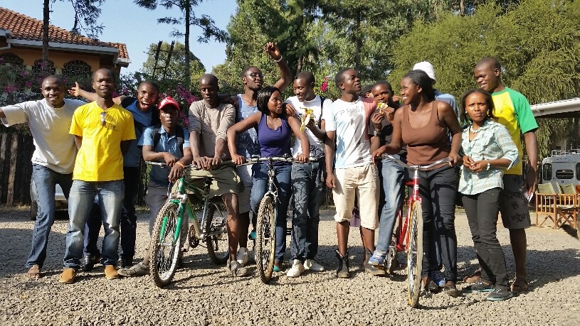 TDA Foundation Bicycle Donations in Nairobi