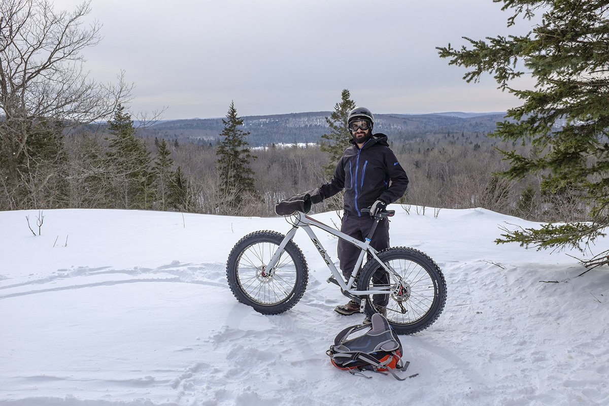 Fat bikes in Algonquin Park
