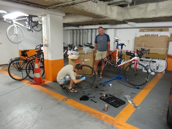 Bike assembling