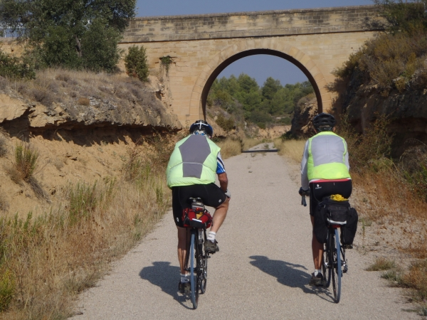 Spain - Relaxed ride on the old train line