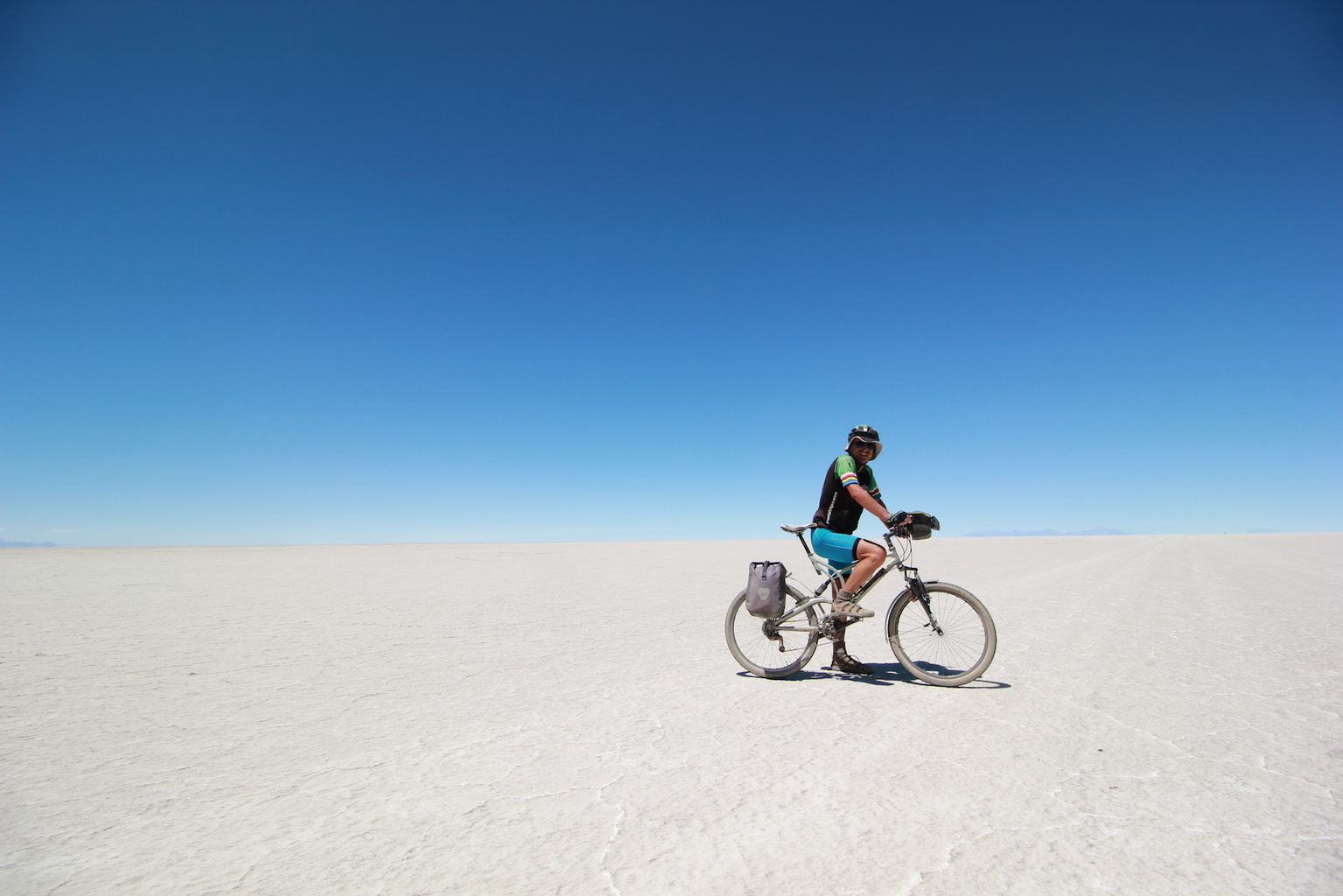 Bizarre & Barren: Cycling the Salt Flats