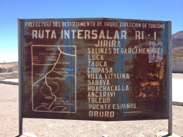 Inter salt flat route